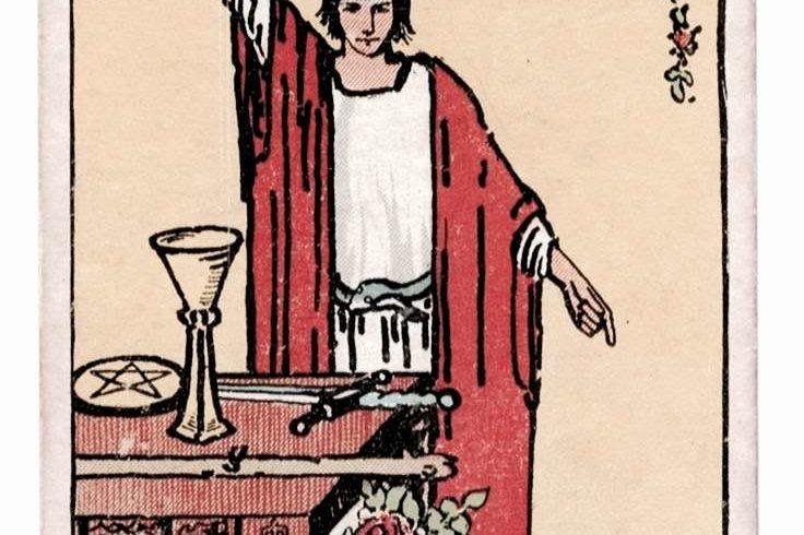 The Magician Tarot Card (Rider-Waite Tarot Deck)