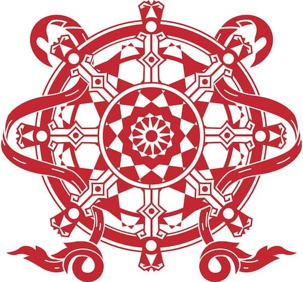 dharma wheel - karmic number