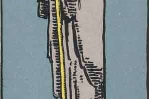 Tarot Birth Card The Hermit Number 9