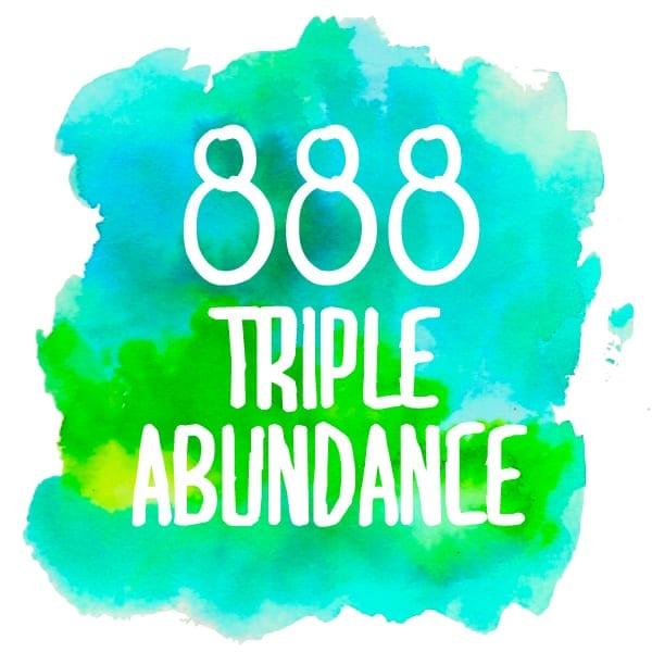 TRIPLE 8s on Monday January 26th! 8=money 888-triple-abundance