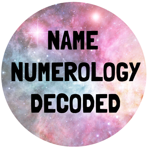 NAME NUMEROLOGY DECODED