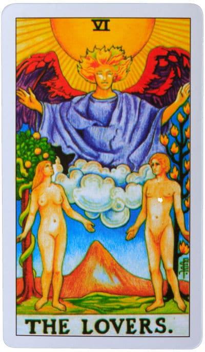 the lovers tarot cards