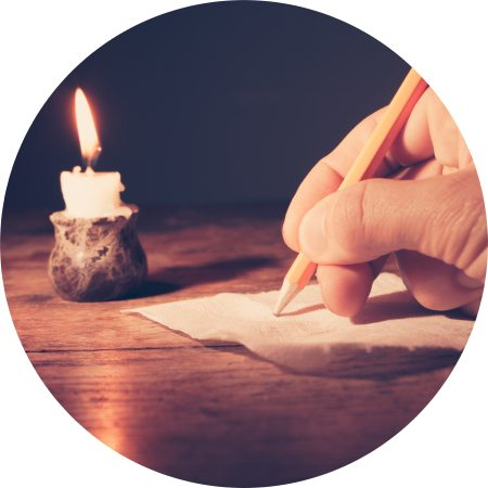 writing to spirits