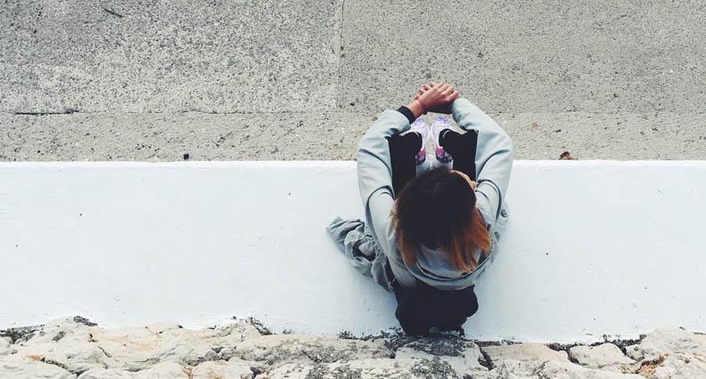 introvert sitting