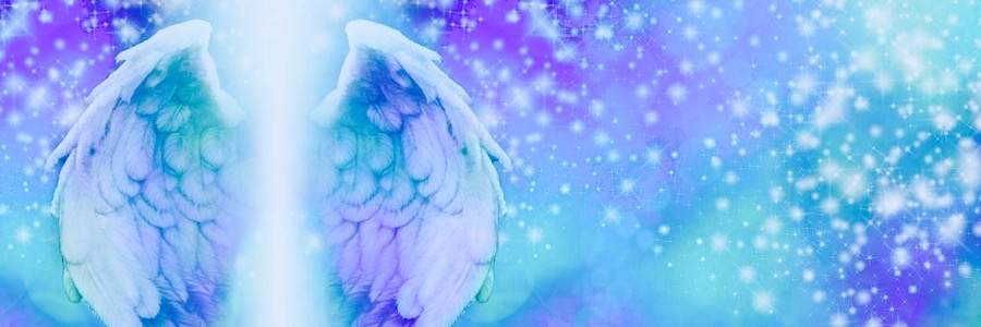 Purple Angel Wings (Archangel Zadkiel)