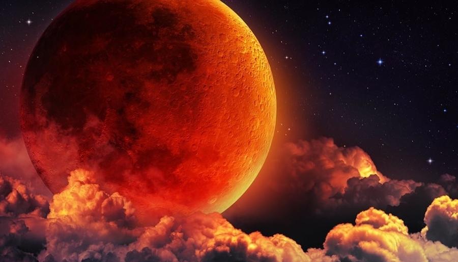 Blood Moon Full Moon Lunar Eclipse