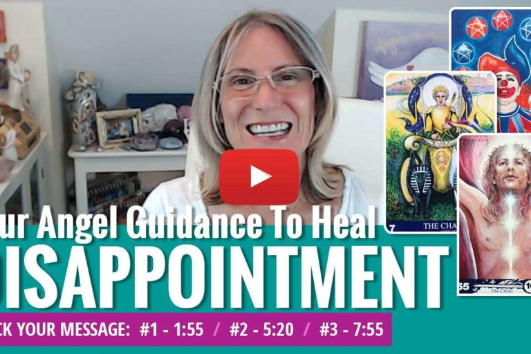 youtube video thumbnail - angel messages for disappointment