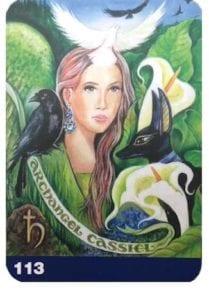 balancing heart chakra with archangel cassiel