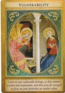 angel card - vulnerability