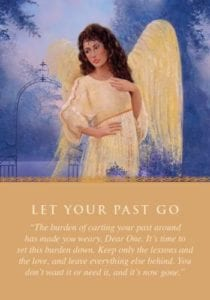 angel card taking a second chance