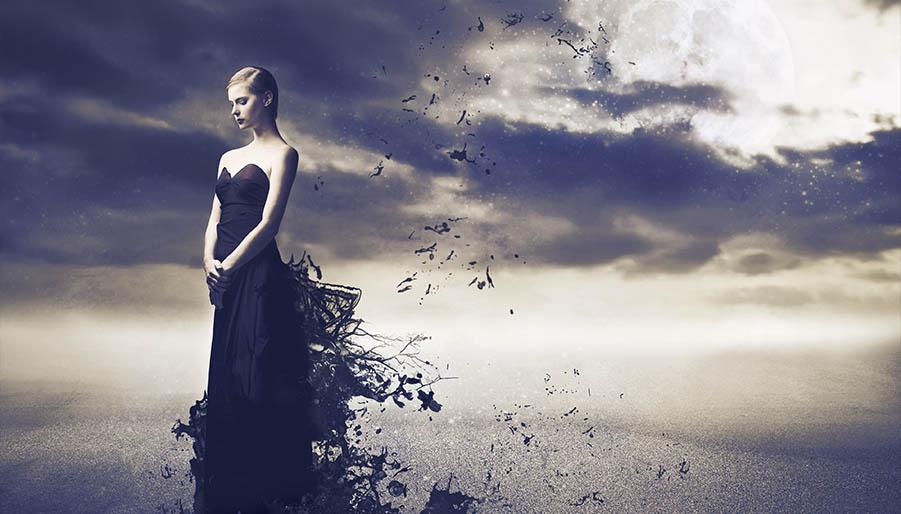 letting go of anger full moon ritual