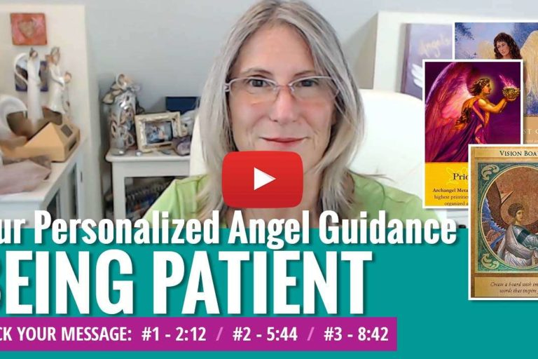 angel messages for patience