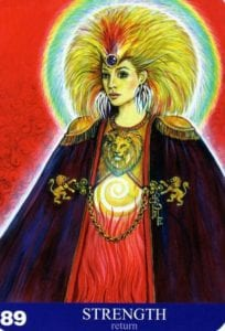 strength aura soma card