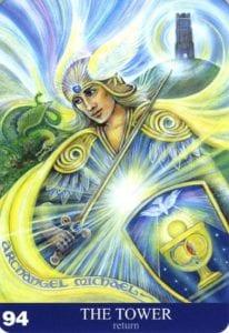 AURA SOMA ANGEL CARD THE TOWER