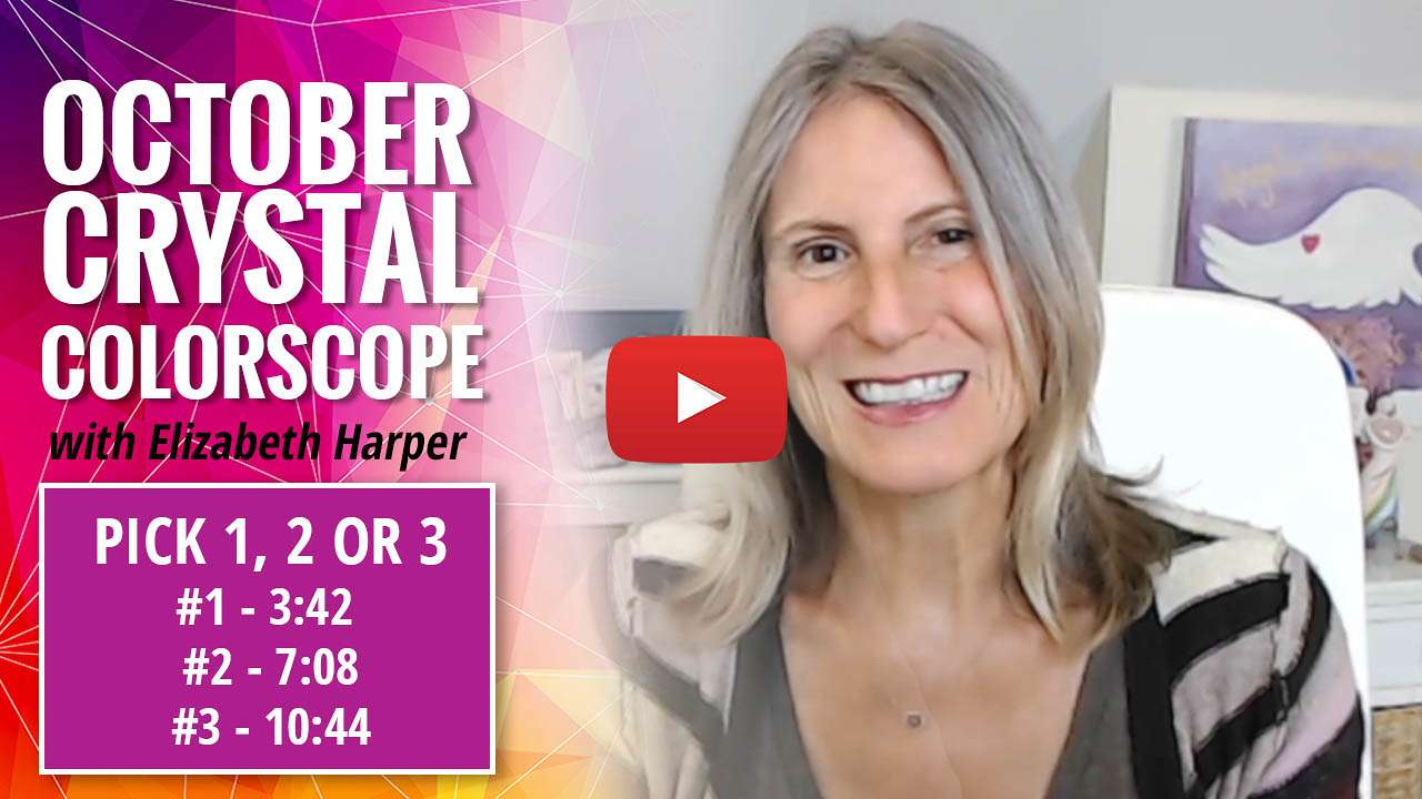 youtube video thumbnail - october crystal colorscope