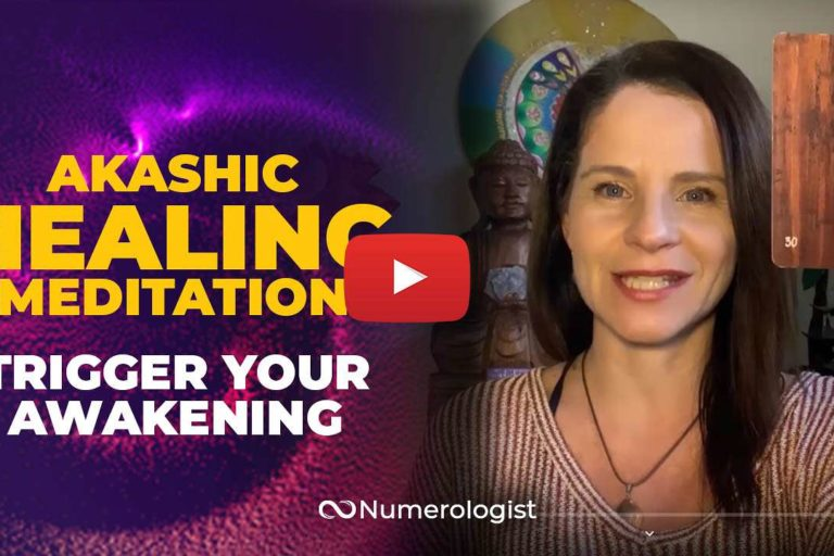 Akashic Clearing Meditation YouTube Thumbnail - Patricia Missakian