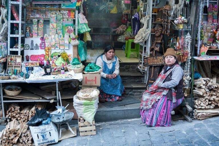 Traders at the Bolivian Witches Market