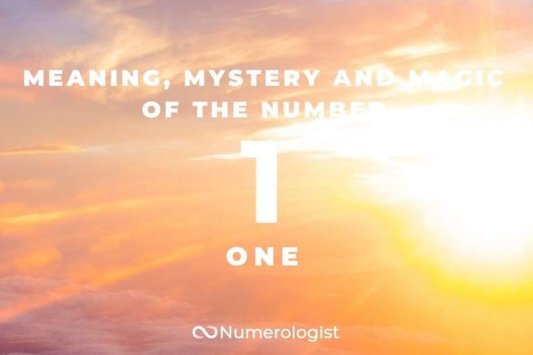 Meaning Mystery and Magic of the Number 1