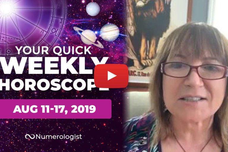 weekly horoscope aug 11-17,2019