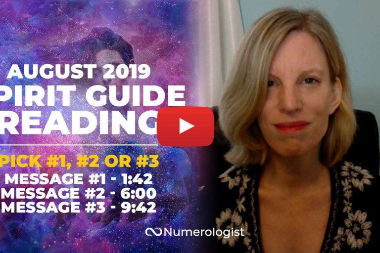 August Spirit Guide