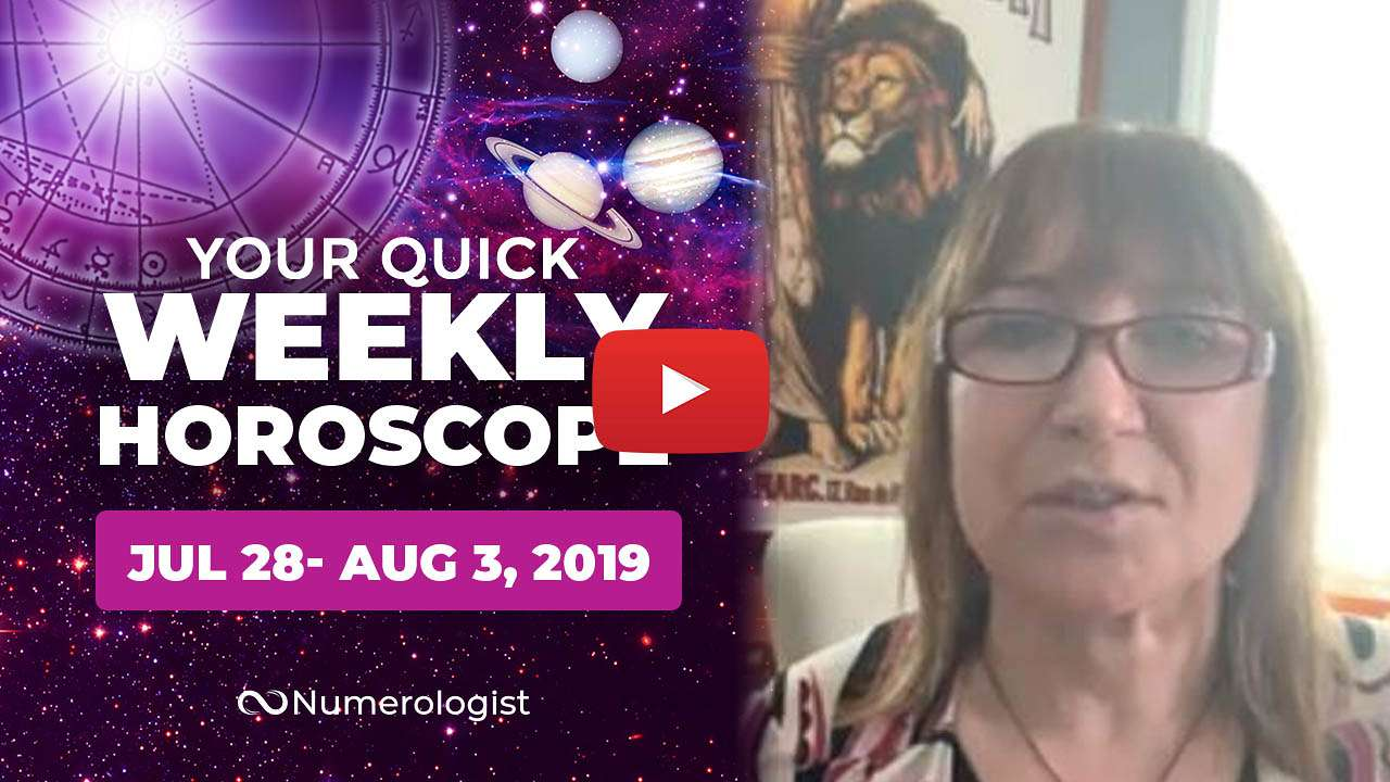 weekly horoscope july 28- august 3, 2019