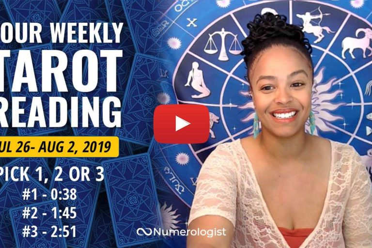 Weekly Tarot Reading Jul 26-Aug 2