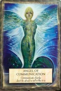 angel message communication