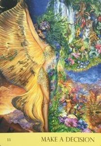 angel message make a decision