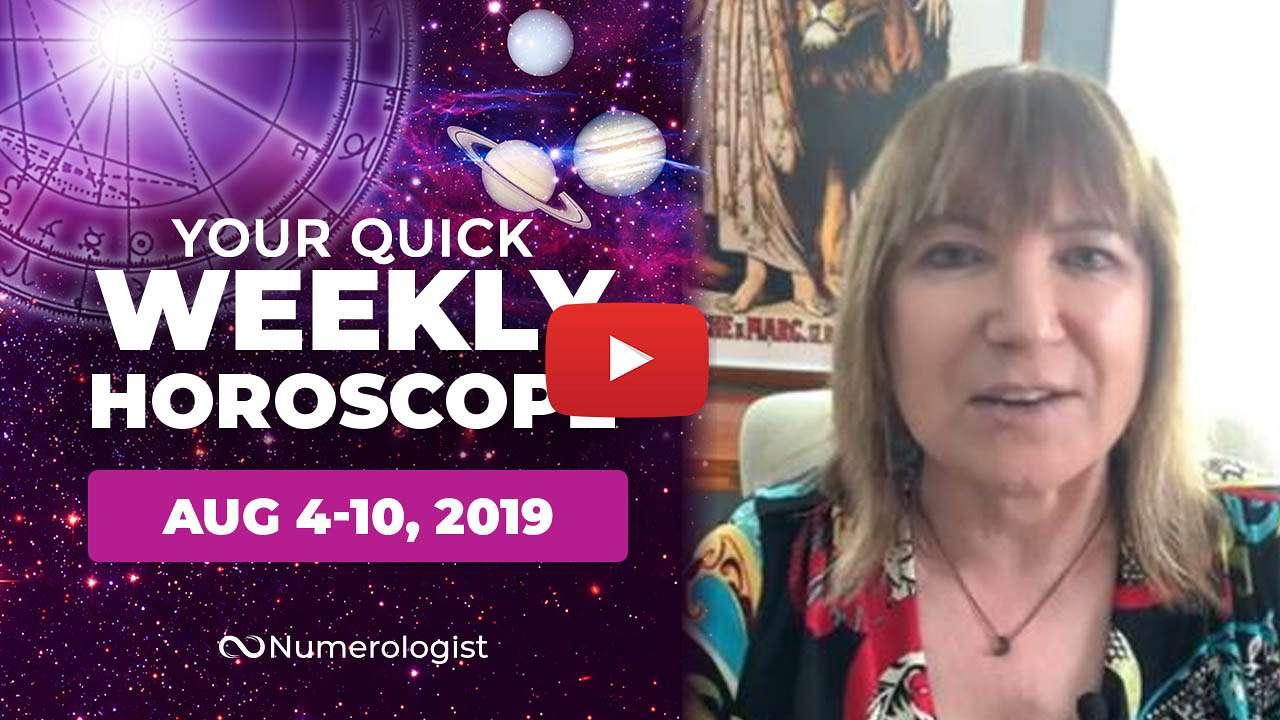 weekly horoscope aug 4