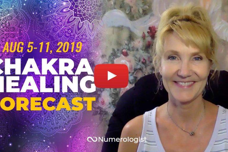 weekly chakra healing