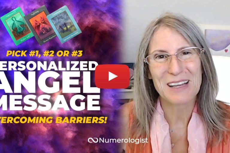 angel message overcome barriers