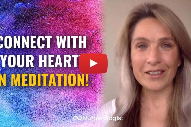 connect with your heart in meditation