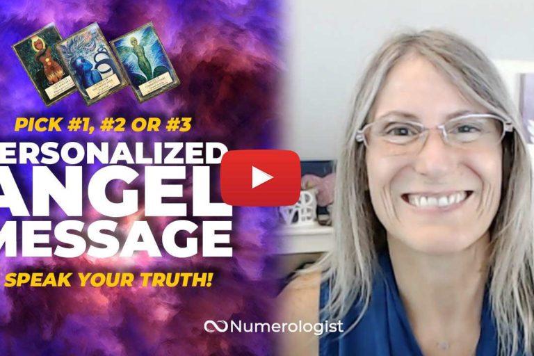 angel message speak your truth