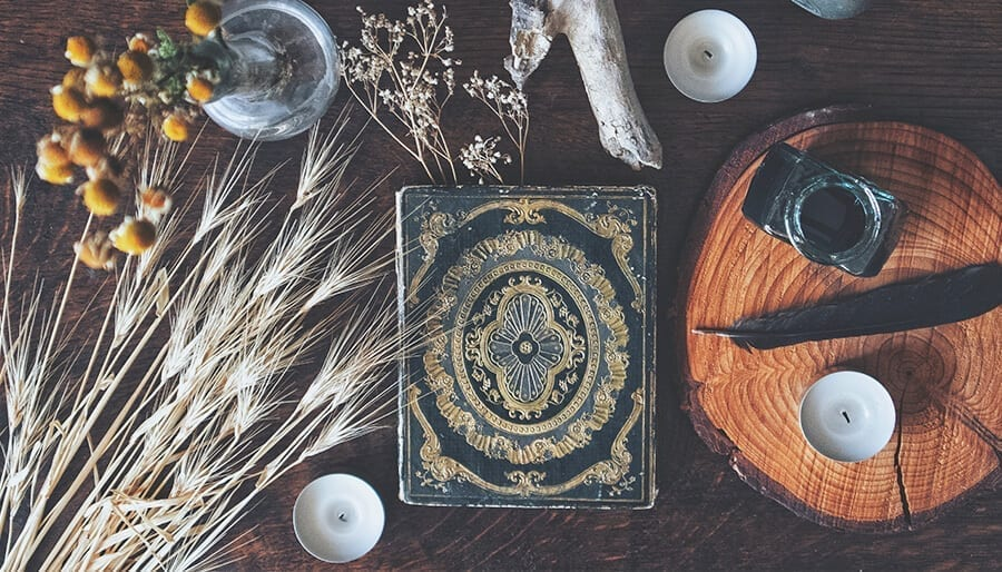 Make your own witch's altar