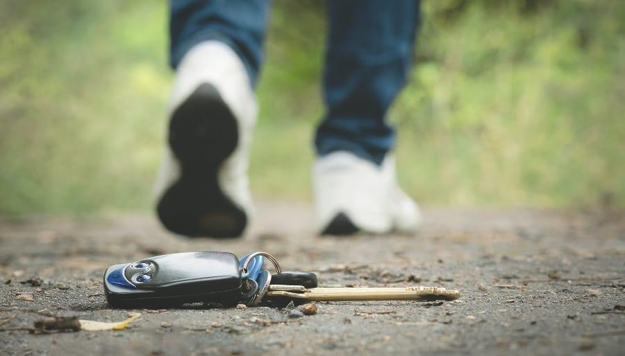 Lost Keys on the Road