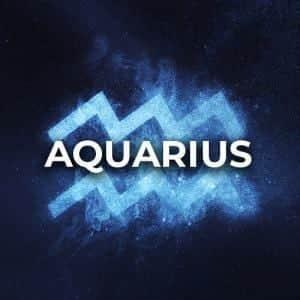 Aquarius (Jan 20 - Feb 18)